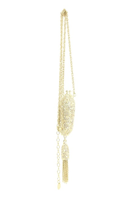 Item - Gold Minaudiere Chain 7ck119 Necklace
