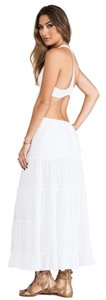 white Maxi Dress by Indah Boho Chic Sexy Beachy