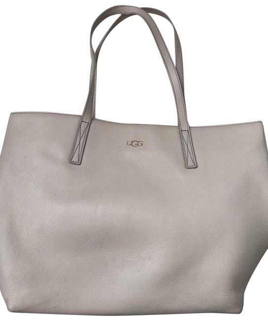 Item - Beige Leather Tote