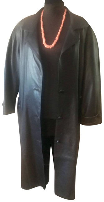 Item - Brown Vintage From The '70's Genuine Long Coat Jacket Size 6 (S)