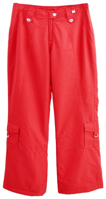 Item - Red Pant #189-13 Activewear Sportswear Size 6 (S, 28)