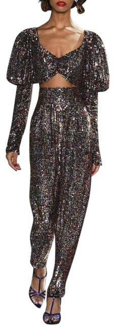 Item - Multicolored Sequined Pants Size 4 (S, 27)