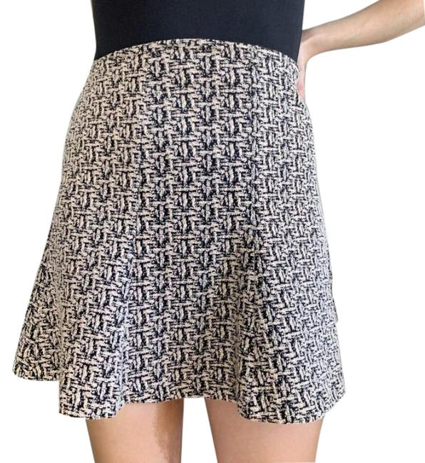 Item - Blue And White Quilted Skirt Size 14 (L, 34)