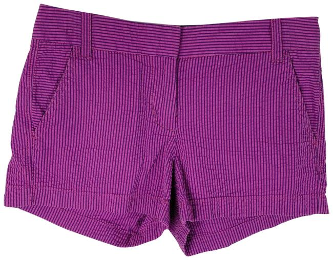 Item - Pink Blue & Striped Casual Shorts Size 2 (XS, 26)