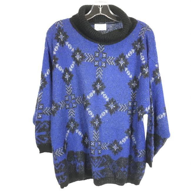 Item - Cowl Neck Blue Sweater
