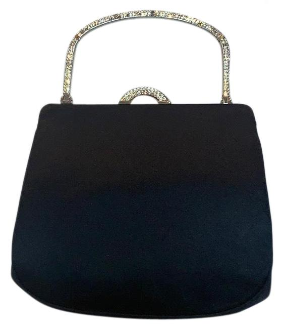 Item - Evening Bag With Coin Purse Black Satin Clutch