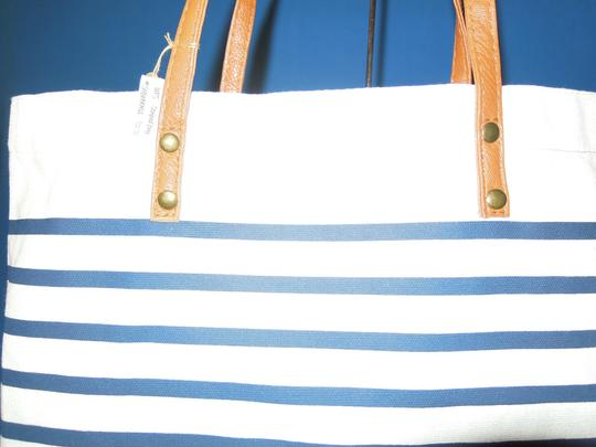 Other Tote in navy & white stripe