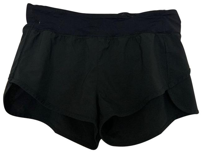 Item - Black Sm Blk Mini Runner Activewear Bottoms Size 4 (S)