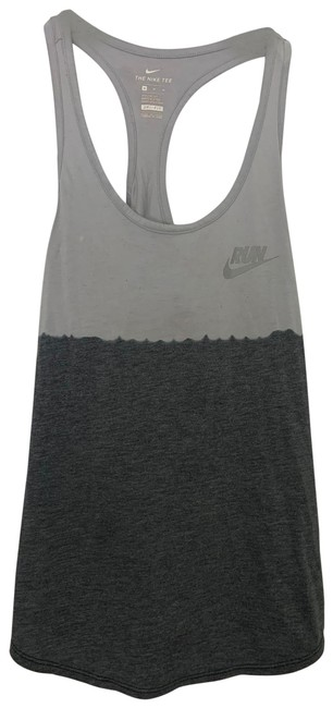 Item - Grey The Athletic Dry Fit Razor Activewear Top Size 8 (M)