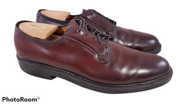 Item - Black Cherry Imperial Shell Cordovan Man Vintage Oxfords Formal Shoes Size US 10.5 Narrow (Aa, N)