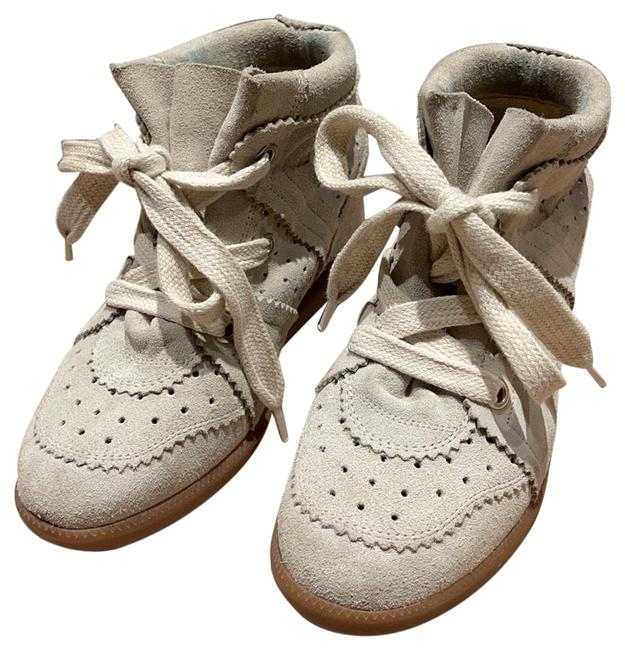 Item - Chalk Wedge Sneakers Size EU 37 (Approx. US 7) Regular (M, B)