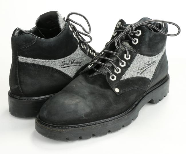 Item - Black/Gray Oberkampf Ankle Boots Shoes