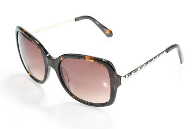 Item - Brown/Silver 57mm Oversized Sunglasses