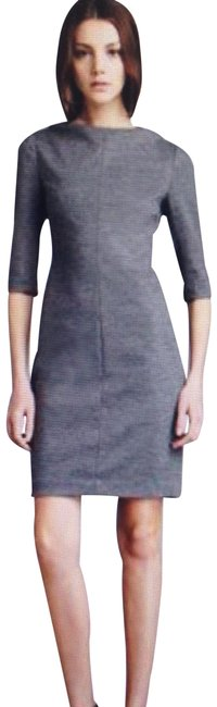 Item - Heather Grey Jersey Dvf Thandi Wool Short Work/Office Dress Size 0 (XS)
