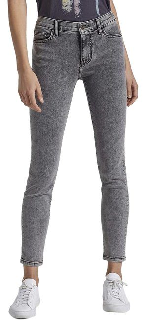 Item - Smoke (Grey) Light Wash The Stiletto Skinny Jeans Size 26 (2, XS)