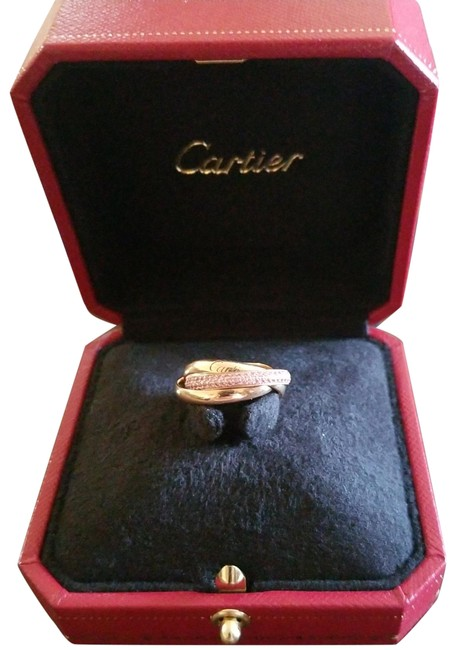 Item - Rose Gold and Pink Sapphire Trinity Ring
