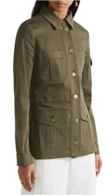 Veronica Beard Army Green Camp Utility Jacket Size 6 (S) Veronica Beard Army Green Camp Utility Jacket Size 6 (S) Image 1