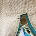 Gucci Soho Disco Small Turquoise Blue Leather Shoulder Bag Gucci Soho Disco Small Turquoise Blue Leather Shoulder Bag Image 12