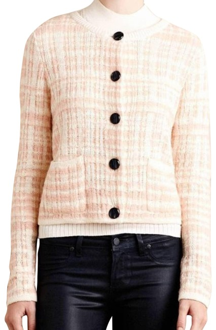 Item - Pink Knitted & Knotted Cardigan Size 00 (XXS)