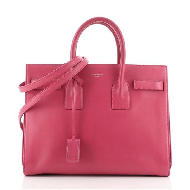Item - Sac de Jour Small Pink Leather Satchel