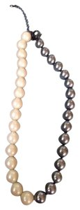 Lia Sophia Lia Sophia Black and White Pearl Necklace