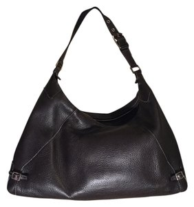 Lamberston Truex Leather Shoulder Bag