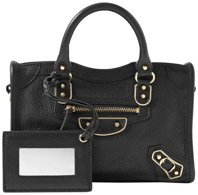 Item - Classic City Nano Textured-leather Tote Shoulder Bag