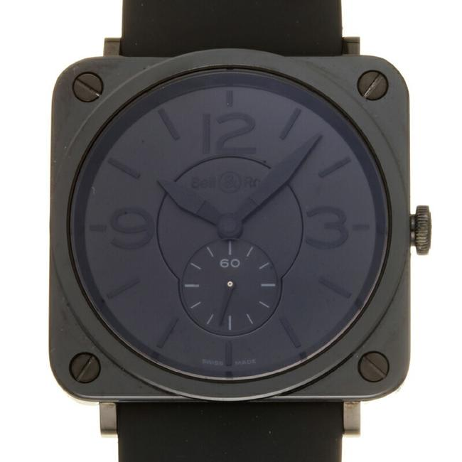Item - Square Ladies Men's Brs-98-pbc Ceramic Black Dial Watch