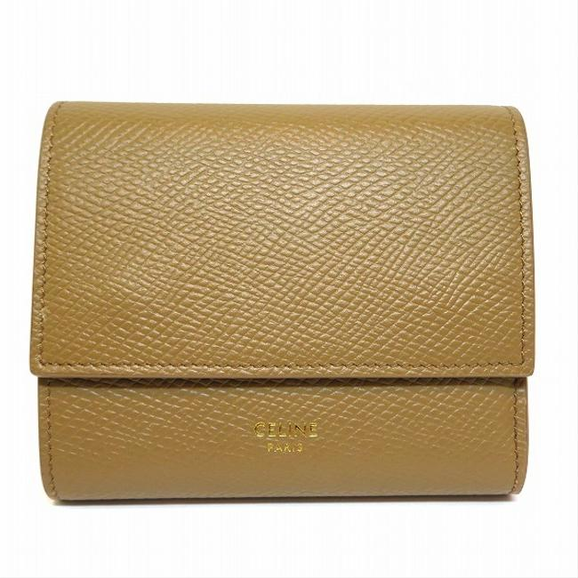 Item - Ivory Tri-Fold Small Trifold Ladies Wallet
