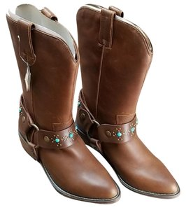 dingo Leather Women's Brown Boots