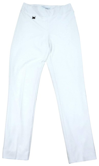 Item - White Stretch Slim Activewear Bottoms Size 6 (S, 28)