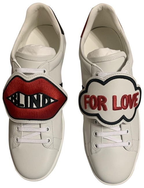 Item - White Ace Blind For Love Sneakers Size EU 39.5 (Approx. US 9.5) Regular (M, B)
