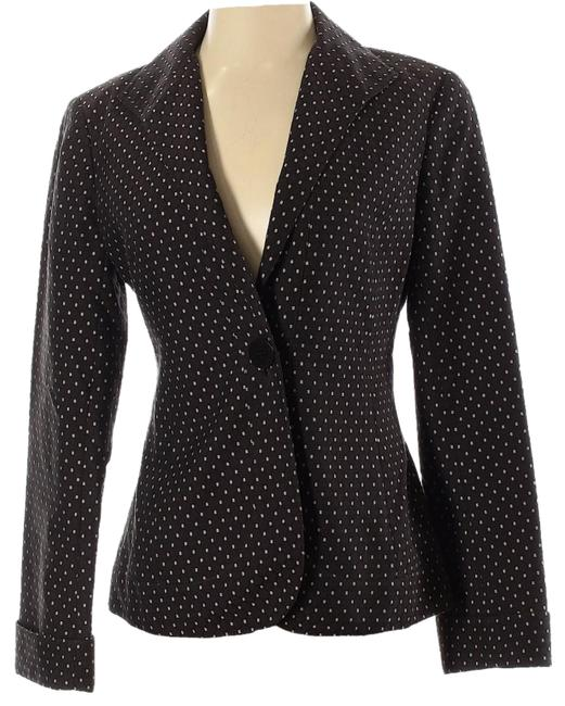 Item - Brown Dotted Blazer Size 4 (S)