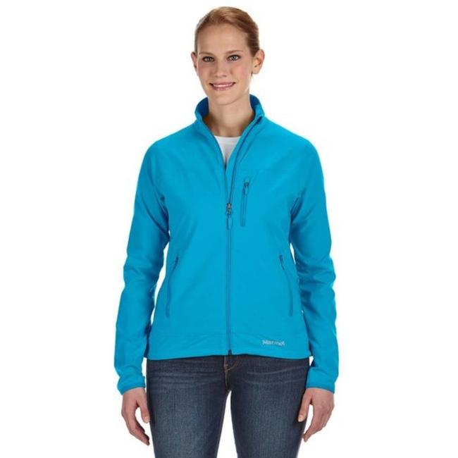 Item - Tempo / Turquoise Blue Women's Atomic Zip Up Activewear Outerwear Size 8 (M)