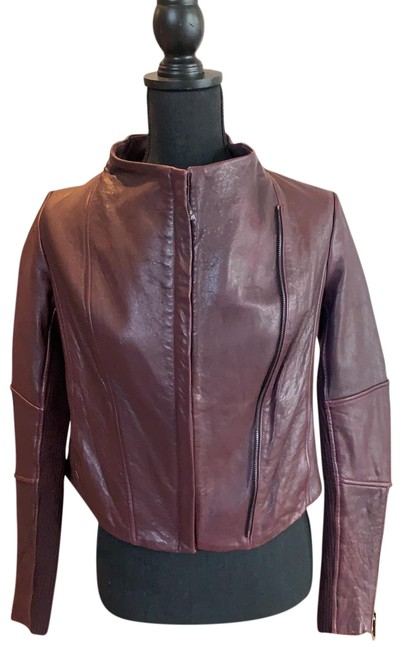 Item - Dark Plum Rn 106730 Jacket Size 2 (XS)