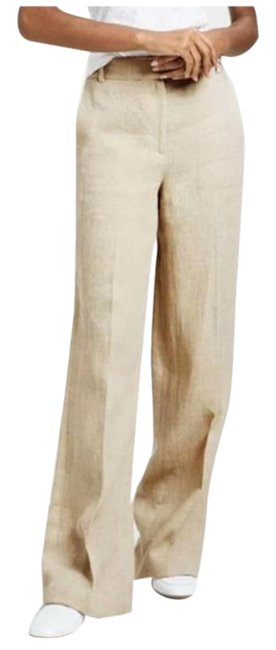 Item - Cream Piazza Linen Pants Size 10 (M, 31)