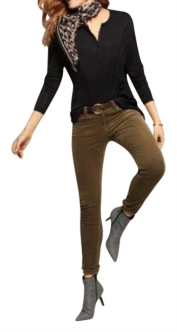 Item - Olive Green 3567 Pants Size 6 (S, 28)