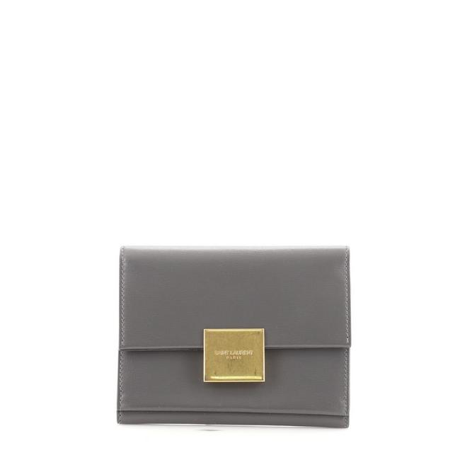 Item - Gray Bellechasse Envelope Leather Small Wallet