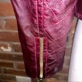 Guess Red Quilted Faux Leather Moto Jacket Size 14 (L) Guess Red Quilted Faux Leather Moto Jacket Size 14 (L) Image 6