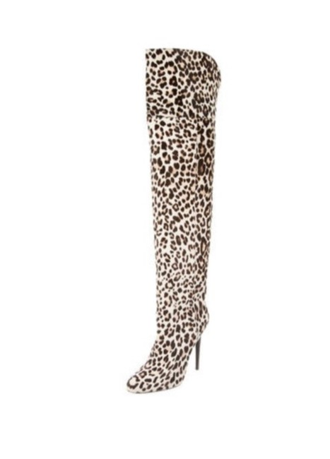Item - Animal Print Titan Boots/Booties Size EU 38 (Approx. US 8) Regular (M, B)