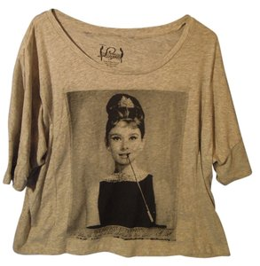 Hollywood Legends T Shirt Gray
