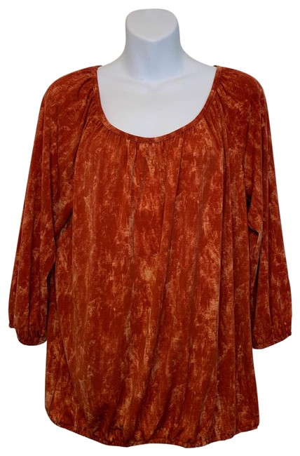 Item - Orange Tunic Size 10 (M)