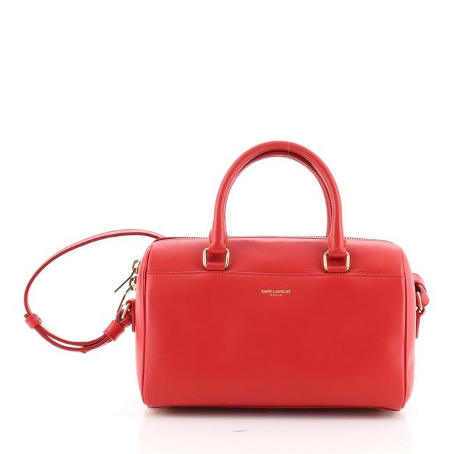 Item - Duffle Bag Classic Baby Red Leather Satchel