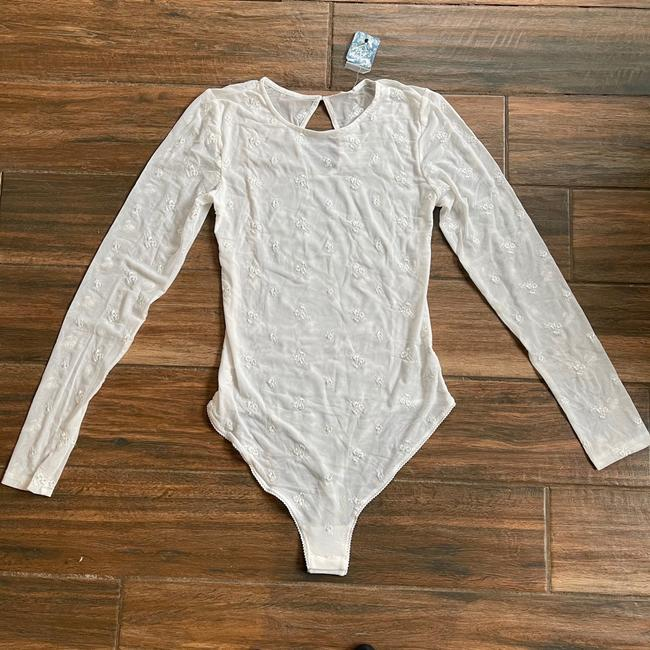 Intimately Free People Makeout Mesh Long Sleeve Bodysuit Top Intimately Free People Makeout Mesh Long Sleeve Bodysuit Top Image 3