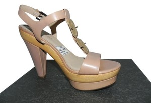 Via Spiga Beige Platforms
