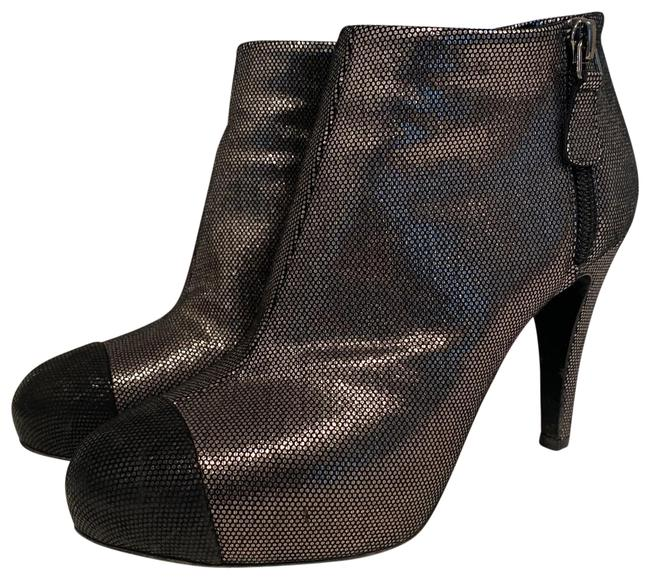 Item - Silver Boots/Booties Size US 6 Regular (M, B)