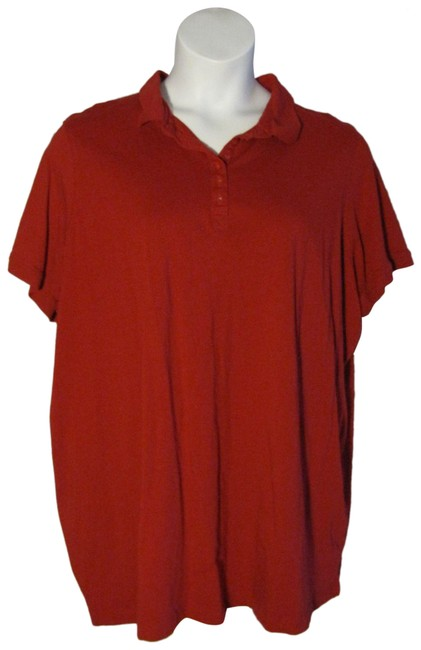 Item - 3x Polo Shirt 30/32 Red Sweater