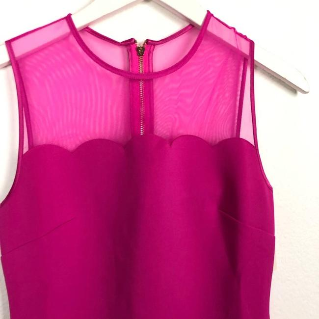 Ted Baker Pink Clowva Scallop Trim Bodycon Sleeveless Cocktail Dress Size 2 (XS) Ted Baker Pink Clowva Scallop Trim Bodycon Sleeveless Cocktail Dress Size 2 (XS) Image 6