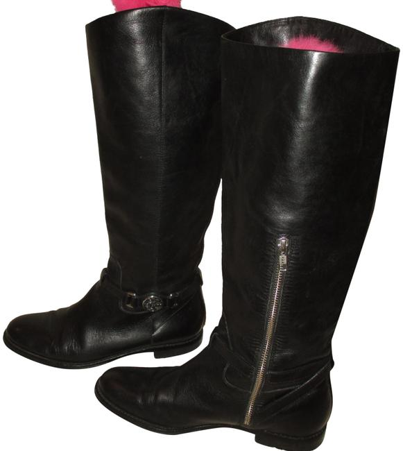 """Item - Black 15"""" Heels Leather Lined M Boots/Booties Size US 7.5 Regular (M, B)"""