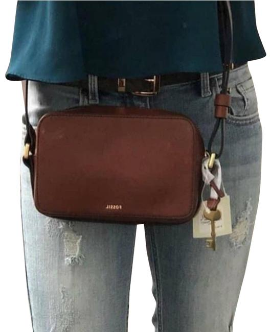 Item - Billie Small Brown Leather Cross Body Bag